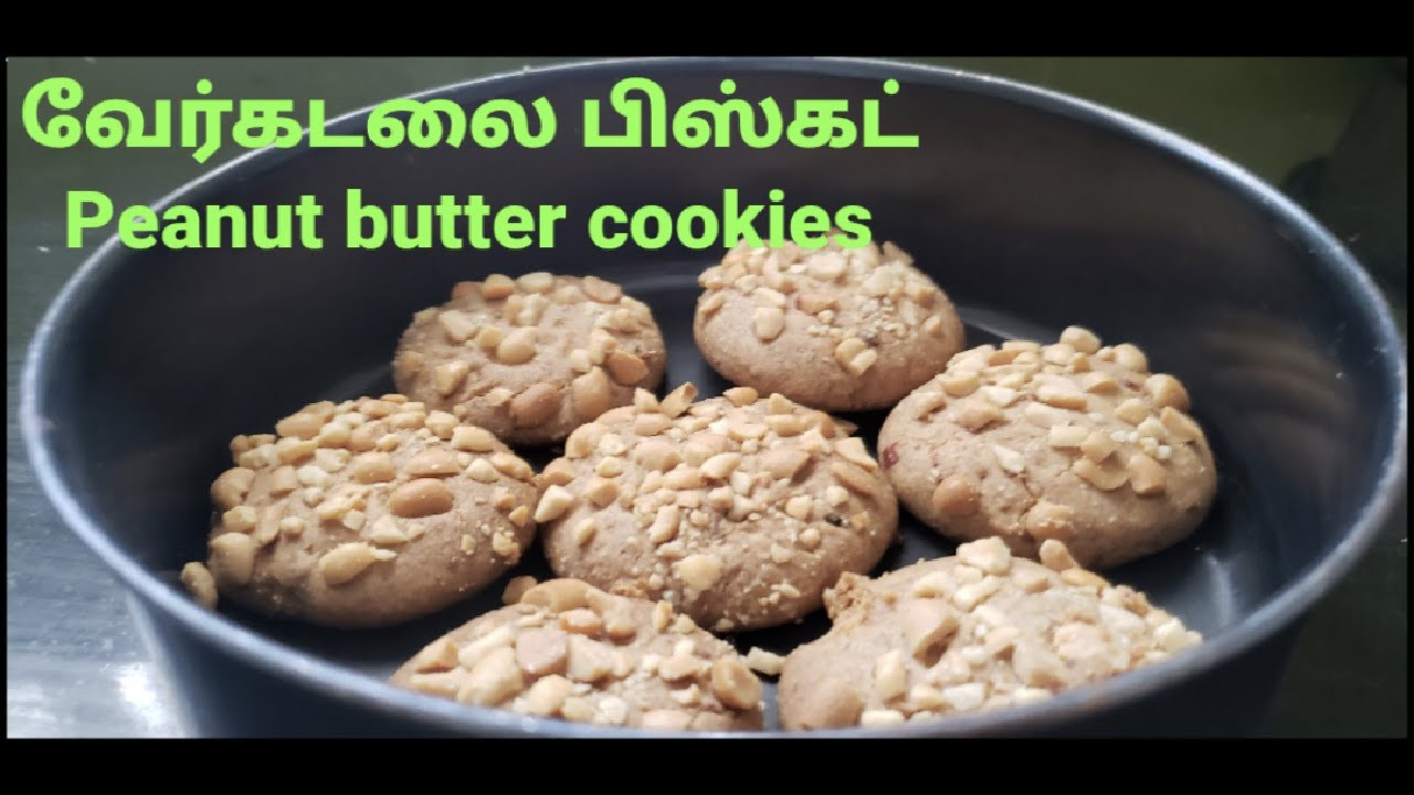 Peanut butter cookies|Easy & Simple|வேர்கடலை பிஸ்கட்|Protein rich - YouTube